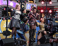 The cast of Six The Musical perform on Good Morning America