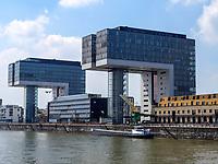 Kranhäuser, Köln, Nordrhein-Westfalen, Deutschland, Europa<br /> Kranhäuser, Cologne, North Rhine-Westphalian, Germany, Europe