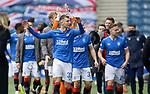 06.03.2021 Rangers v St Mirren: Rangers players at full time