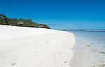 Another perfect beach on Christmas Island (Kiritimati), Kiribati