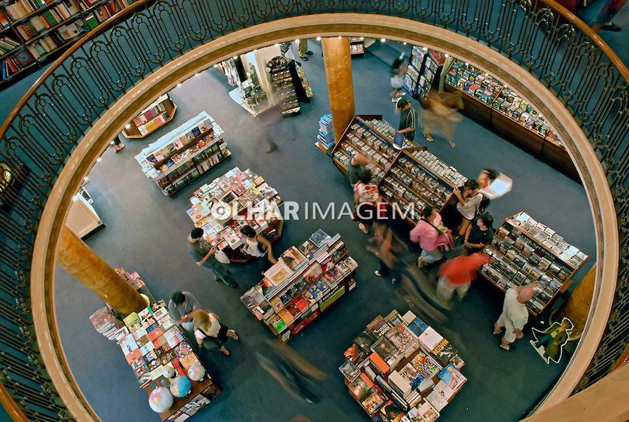 Livraria El Ateneo. Buenos Aires. Argentina. 2008. Foto de Renata Mello.