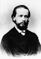 Русский композитор Петр Ильич Чайковский, 1868 год / Russian composer Pyotr Ilyich Tchaikovsky, 1868