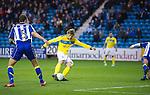Kilmarnock v St Johnstone..24.11.12      SPL.Murray Davidson scores for saints.Picture by Graeme Hart..Copyright Perthshire Picture Agency.Tel: 01738 623350  Mobile: 07990 594431