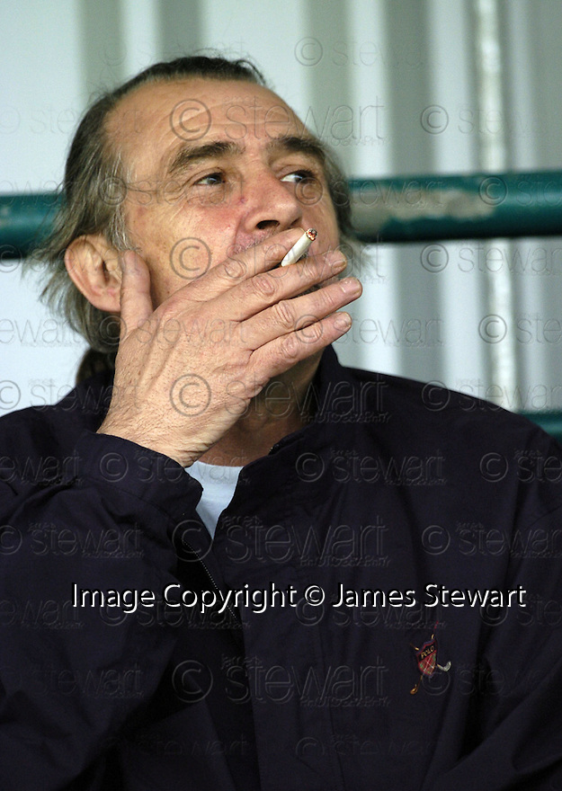 21/04/2007       Copyright Pic: James Stewart.File Name : sct_jspa32_gretna_v_clyde.BROOKS MILESON ENJOYS AN ILLEGAL CIGARETTE IN THE BACK OF THE STAND....James Stewart Photo Agency 19 Carronlea Drive, Falkirk. FK2 8DN      Vat Reg No. 607 6932 25.Office     : +44 (0)1324 570906     .Mobile   : +44 (0)7721 416997.Fax         : +44 (0)1324 570906.E-mail  :  jim@jspa.co.uk.If you require further information then contact Jim Stewart on any of the numbers above.........