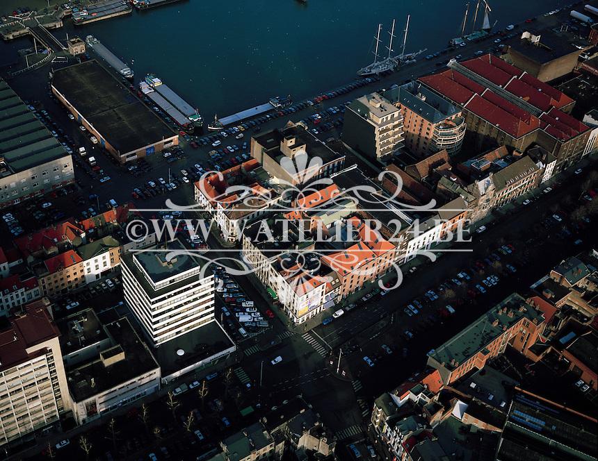 Januari 1996. Willemdok in Antwerpen.