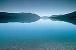 Glacial Lake McDonald, Glacier National Park, Montana.
