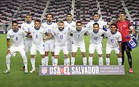 FORT LAUDERDALE, FL - DECEMBER 09: El Salvador starting eleven during a game between El Salvador and USMNT at Inter Miami CF Stadium on December 09, 2020 in Fort Lauderdale, Florida.