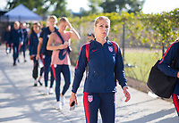 San Jose, CA - September 4, 2018:  The USWNT defeated Chile 4-0 during an international friendly at Avaya Stadium.