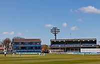 General view of the Spitfire Ground during Kent CCC vs Lancashire CCC, LV Insurance County Championship Group 3 Cricket at The Spitfire Ground on 25th April 2021