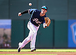 Reno Aces' Jack Reinheimer makes a play at Greater Nevada Field in Reno, Nev., on Sunday, July 17, 2016.<br />