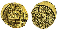BNPS.co.uk (01202) 558833. <br /> Pic: Spink&Son/BNPS<br /> <br /> Pictured: This Bishop of York, Paulinus, Gold Shilling sold for £30,000. <br /> <br /> A finance director's remarkable collection of historic Anglo-Saxon coins has sold for a staggering £856,000.<br /> <br /> Tony Abramson, president of the Yorkshire Numismatic Society, started collecting aged four in the 1950s.<br /> <br /> His passion developed during his teenage years and he went to great lengths to bolster his collection in the decades that followed until it reached 1,200 coins.