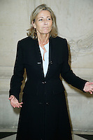 Paris, France September 27 : Claire Chazal attends the Christian Dior Ready To Wear Spring/Summer 2017 show as part of Paris Fashion Week on September 27; 2016 in Paris, France. # FASHION WEEK - PEOPLE AU DEFILE DIOR.