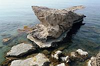 Nordzypern, Felsstrand in Acapulco