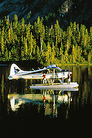 Fishing from a float plane. Alaska.