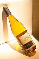 Bottle of Chardonnay Reserva 2004 Bodega Jacques and Francois Lurton Mendoza Valle de Uco The Dolly Irigoyen - famous chef and TV presenter - private restaurant, Buenos Aires Argentina, South America Espacio Dolli