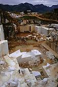 Itajuba, Brazil. Marble quarry in former Atlantic Rainforest (Mata Atlantica). Serra da Mantiqueira, Rio de Janeiro State.