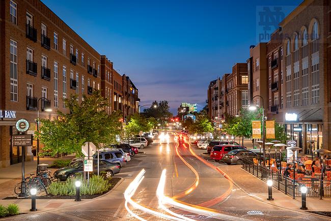 June 2, 2018; Eddy Street Commons (Photo by Matt Cashore/University of Notre Dame)