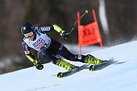 18th February 2021; Cortina d'Ampezzo, Italy; FIS Alpine World Ski Championships  Cortina Women's Giant Slalom; Leona Popovic (CRO)