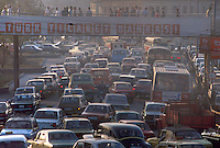 - traffic in downtown..- traffico in centro città