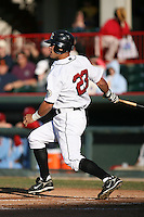 May 29th 2008:  Justin Justice of the Erie Seawolves, Class-AA affiliate of the Detroit Tigers, during a game at Jerry Uht Park in Erie, PA.  Photo by:  Mike Janes/Four Seam Images