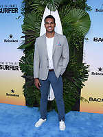 """12 August 2021 - Santa Monica, California - Aaron Clancy. ABC's """"Bachelor In Paradise"""" And """"The Ultimate Surfer"""" Premiere. Photo Credit: Billy Bennight/AdMedia"""