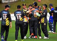 170103 McDonalds Super Smash T20 Cricket - Wellington Firebirds v Otago Volts