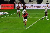 São Paulo (SP), 02/06/2021 - CORINTHIANS-ATLETICO-GO - João Paulo, do Atlético-GO comemora o segundo gol. Corinthians e Atlético-GO, a partida é válida pela terceira fase da Copa do Brasil, Neo Química Arena, quarta-feira (02).