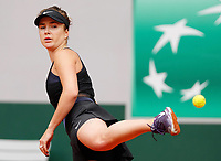 5th June 2021; Roland Garros, Paris France; French Open tennis championships day 7;  Elina Svitolina of Ukraine womens singles third round match against Barbora Krejcikova of the Czech Republic