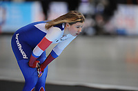 SPEEDSKATING: ERFURT: 19-01-2018, ISU World Cup, 1000m Ladies A Division, Olga Fatkulina (RUS), photo: Martin de Jong