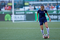 Portland, OR - Saturday July 22, 2017: Arielle Ship warms up before a regular season National Women's Soccer League (NWSL) match between the Portland Thorns FC and the Washington Spirit at Providence Park.
