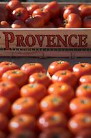 Europe/Provence-Alpes-Côte d'Azur/83/Var/Saint-Tropez: Détail tomates sur le marché de la Place des Lices