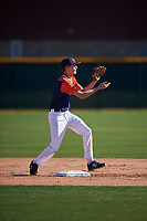 Daniel Cohen during the Under Armour All-America Tournament powered by Baseball Factory on January 18, 2020 at Sloan Park in Mesa, Arizona.  (Zachary Lucy/Four Seam Images)