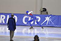 SPEED SKATING: SALT LAKE CITY: 20-11-2015, Utah Olympic Oval, ISU World Cup, 1500m, Shani Davis (USA), ©foto Martin de Jong