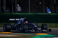 #22 Yuki Tsunoda Alpha Tauri Toro Rosso Honda. Formula 1 World championship 2021, Shakedown the new car for the 2021 season by Alpha Tauri, Imola 24 February 2021.<br /> Photo Federico Basile FB PhotoImages/Insidefoto
