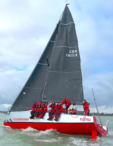 The most high profile service entry is the Army Sailing Association's Fujitsu British Soldier.