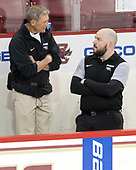 Stephen Basiel (PC - Athletic Trainer), Andrew Zagorianakos (PC - Manager) - The Boston College Eagles defeated the visiting Providence College Friars 3-1 on Friday, October 28, 2016, at Kelley Rink in Conte Forum in Chestnut Hill, Massachusetts.The Boston College Eagles defeated the visiting Providence College Friars 3-1 on Friday, October 28, 2016, at Kelley Rink in Conte Forum in Chestnut Hill, Massachusetts.