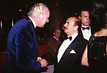 VITTORIO EMANUELE DI SAVOIA CON ADNAN KHASHOGGIPREMIO THE BEST -  PARIGI 1990