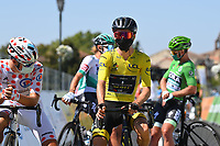 5th September 2020, Grand Colombier, France;  YATES Adam (GBR) of MITCHELTON - SCOTT during stage 8 of the 107th edition of the 2020 Tour de France cycling race, a stage of 140 kms with start in Cazeres-sur-Garonne and finish in Loudenvielle