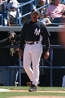 Tony Pena of the New York Yankees vs the Pittsburgh Pirates March 18th, 2007 at Legends Field in Tampa, FL during Spring Training action.  Photo By Mike Janes/Four Seam Images