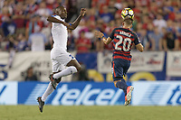 Tampa, FL - July 12, 2017: Paul Arriola  The USMNT (USA) defeated Martinique (MAR) 3-2 in a 2017 Gold Cup group stage match at Raymond James Stadium.