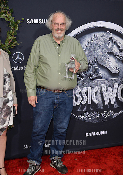 """Paleontologist Jack Horner (right) at the world premiere of """"Jurassic World"""" at the Dolby Theatre, Hollywood.<br /> June 10, 2015  Los Angeles, CA<br /> Picture: Paul Smith / Featureflash"""
