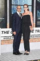 "Tanley Tucci and wife, Felicity Blunt<br /> at the premiere of ""The Girl on the Train"", Odeon Leicester Square, London.<br /> <br /> <br /> ©Ash Knotek  D3156  20/09/2016"