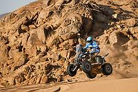4th January 2021; Dakar Rally stage 2;  #154 Andujar Manuel (arg), Yamaha, 7240 Team, Quad, action during the 2nd stage of the Dakar 2021 between Bisha and Wadi Al Dawasir, in Saudi Arabia on January 4, 2021