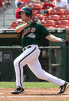 June 9, 2005:  Ryan Ludwick of the Buffalo Bisons during a game at Dunn Tire Park in Buffalo, NY.  Buffalo is the International League Triple-A affiliate of the Cleveland Indians.  Photo by:  Mike Janes/Four Seam Images