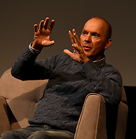 """NEW YORK CITY - OCTOBER 5: Michael Keaton attends a SAG Screening of Hulu's """"DOPESICK"""" at the Museum of Modern Art on October 5, 2021 in New York City. . (Photo by Frank Micelotta/Hulu/PictureGroup)"""