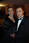 ANDREA E DOMITILLA MESCHINI<br /> FESTA IN MASCHERA  DA VINCENZO E ANGELINA CRIMI  ROMA 2007