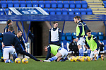 St Johnstone v St Mirren…16.01.21   McDiarmid Park     SPFL<br />Craig Bryson back in the starting line up pictured during the warmup<br />Picture by Graeme Hart.<br />Copyright Perthshire Picture Agency<br />Tel: 01738 623350  Mobile: 07990 594431