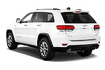 Car pictures of rear three quarter view of a 2015 JEEP GRAND CHEROKEE Limited 5 Door SUV 4WD Angular Rear
