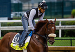 September 2, 2020: Fennick the Fierce exercises as horses prepare for the 2020 Kentucky Derby and Kentucky Oaks at Churchill Downs in Louisville, Kentucky. The race is being run without fans due to the coronavirus pandemic that has gripped the world and nation for much of the year. Evers/Eclipse Sportswire/CSM