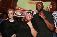 ATLANTIC CITY, NJ - JUNE 9 : Aaron Carter, Damon Feldman and Lamar Odom pictured at the Celebrity Boxing press conference for Friday June 11th fights at The Show Boat Hotel in Atlantic City, New Jersey on June 9, 2021 Credit: Star Shooter/MediaPunch